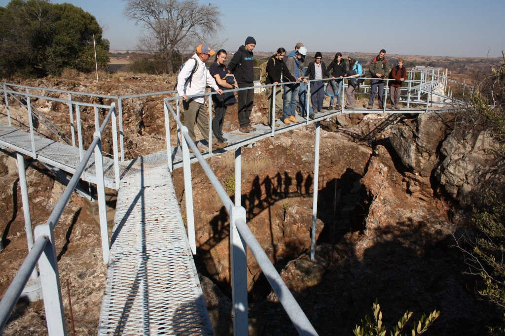 Student Lecture @ Sterkfontein hominin site