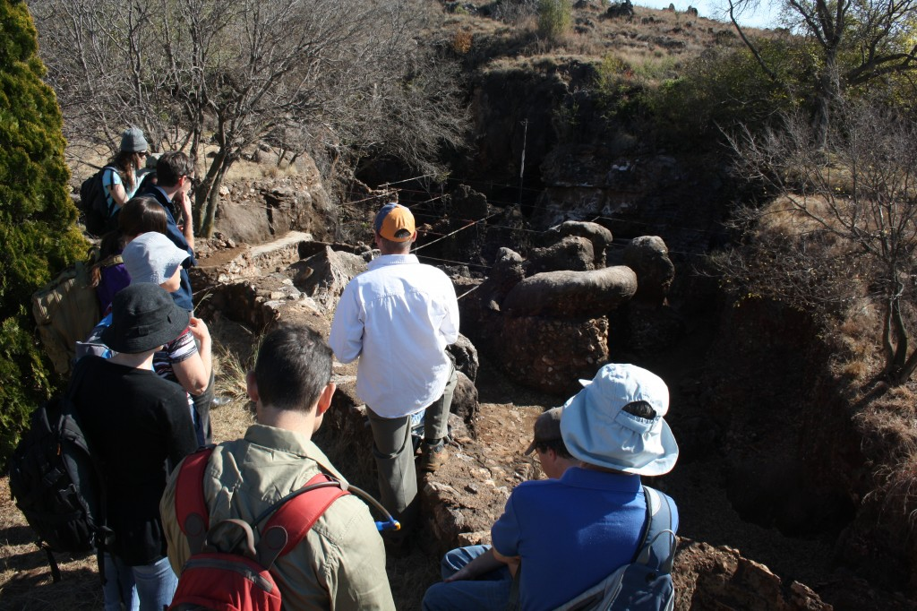 Student Lectures @ Swartkrans hominin site (2-1 Ma)